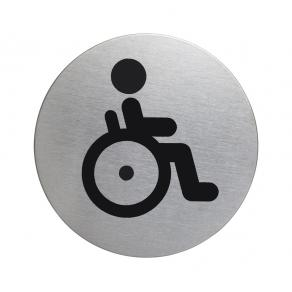 Skylt WC Handikappad 83mm