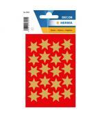 Herma stickers Decor stjärna ø21 guld (3)