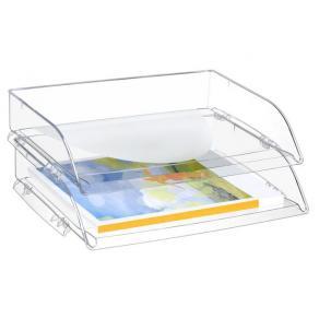 Brevkorg CEP Pro Transparent, öppen långsida