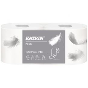 Toalettpapper KATRIN Plus 210, 3-lag, 29m, 40rl/fp
