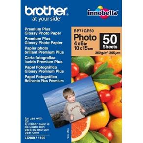 Fotopapper BROTHER BP71 10x15 260g 50/FP
