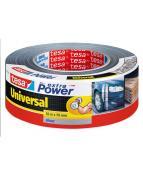 Vävtejp TESA Universal Silver, 50mm x 50m