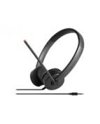 Lenovo Stereo Analog Headset - Headset - på örat - kabelansluten