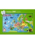 Pussel Europa 200bitar