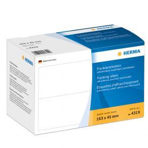 Frankeringsetiketter HERMA, 163x45mm, 1000/fp