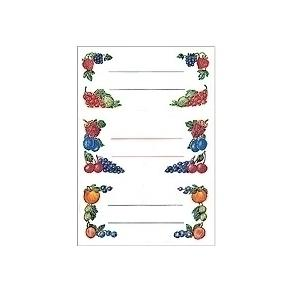 Herma stickers Home kök frukter (4)