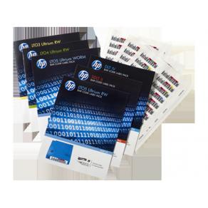 HPE RW Bar Code Label Pack - Streckkodsetiketter