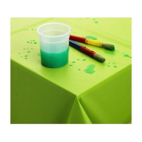 Vaxduk 140x140cm grön