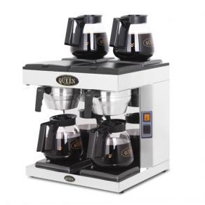 Kaffebryggare Coffee Queen DM-4, 4 värmeplattor, 4x1,8L, 3-fas