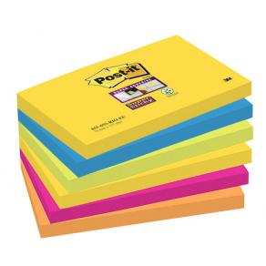 Post-it® Supersticky Rio, 76x127mm, 6/FP