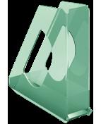 Tidskrifts. Esselte Colour'Ice trans grön