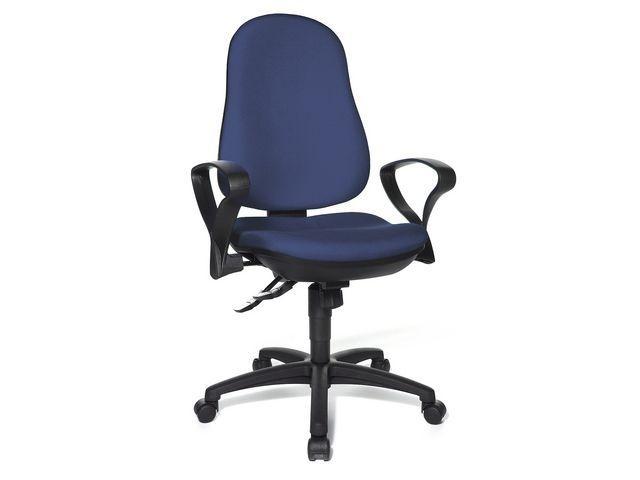 Kontorsstol Ergo Syncro Blå
