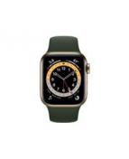 Apple Watch Series 6 (GPS + Cellular) - 40 mm - guld, rostfritt