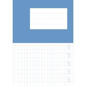 Skrivhäfte A5 siffror 1-10