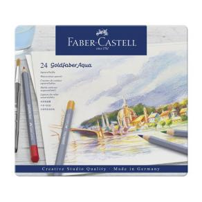 Akvarellpenna Goldfaber 24 färger 24/FP