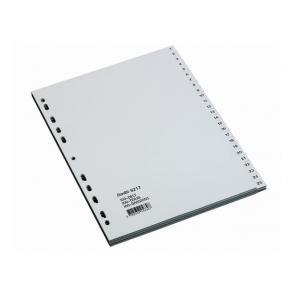 Register BANTEX PP A4 1-100 grå