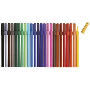 Fiberpenna, 24 färger