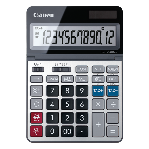 Canon TS-1200TSC desktop calculator