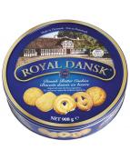 Danish Butter Cookies ROYAL DANSK, plåtburk, 908g