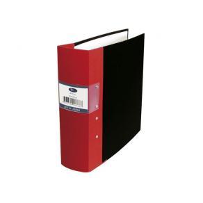 Kontorspärm neutral A4 80mm röd