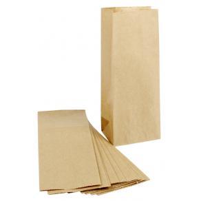 Papperspåse 1L brun 22x9x6.5cm, 100/fp