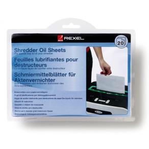 Oljeblad REXEL till dokumentförstörare, 20/FP