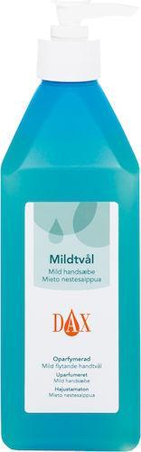 Tvål DAX Mild, oparfymerad, 600ml