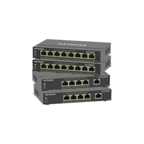 NETGEAR Plus GS305EPP - Switch - smart - 5 x 10/100/1000 (4