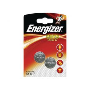 Batteri Energizer Cell Lithium CR2025, 2/fp