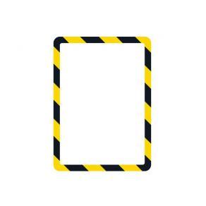 Magnetram TARIFOLD A4 gul/svart 2/FP