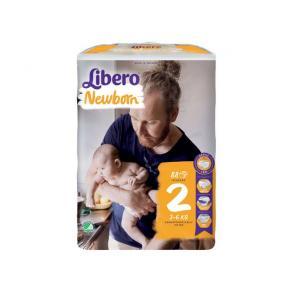 Blöja LIBERO New Born2 3-6kg 88/FP