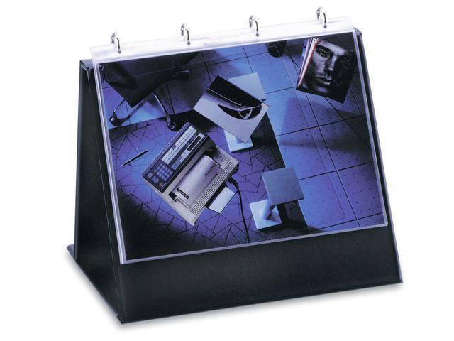 Flip-Over-Pärm Durable A4L Svart, ink 10 plastfickor