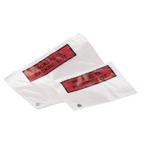 Packsedelskuvert C5, med tryck, 1000/fp