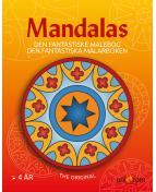 Målarbok Mandalas från 4 år