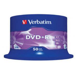 DVD+R Verbatim Cakebox, 4,7Gb, 50/fp