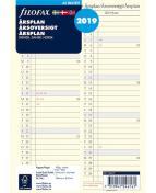 Filofax A5 Årsplan 2019, S/D/N