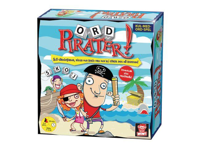 Spel Ord Pirater