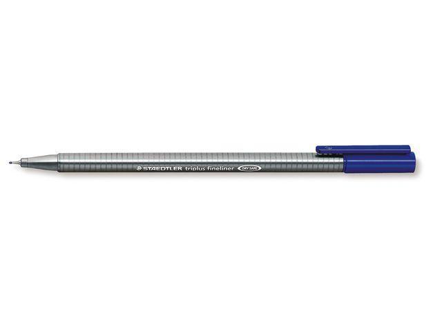 Fiberpenna STAEDTLER Triplus Blå, 0,3mm, 10st 10st