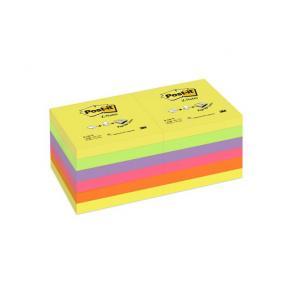 Post-It Z-block Rainbow, 76x76mm, 12st