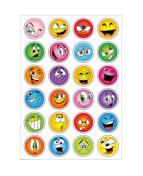 Herma stickers Decor ansikter glitter (2)