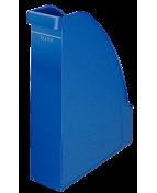 Tidskriftsamlare LEITZ Plus A4 Blå, 78x270x310mm