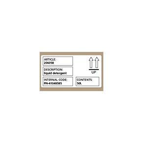 Etiketter Dymo LW Frakt, vit, 101x54mm, 220/fp