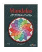 Målarbok Mandalas, från 6 år