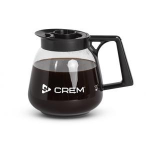 Glaskanna kaffebryggare Coffee Queen / CREM