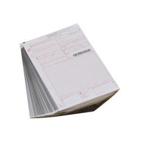 Fraktsedel, 1 original+3 kopior, 100/fp
