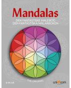 Målarbok Mandalas från 8 år