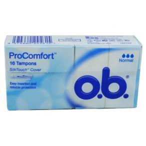 Tampong OB ProComfort Normal 16/FP
