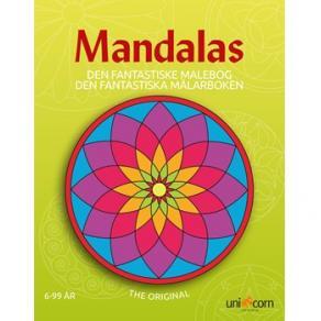 Målarbok Mandala De fantastiska målarbo