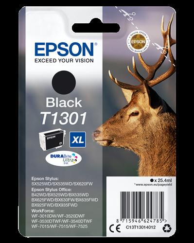 Bläck Epson T1301 25,9ml svart
