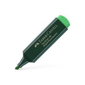 Överstrykningspenna FABER-CASTELL Textliner 48 Grön, 10st